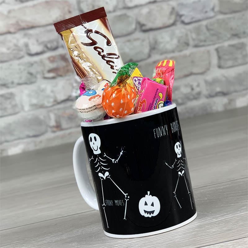 Funny Bones- Mug With Sweets