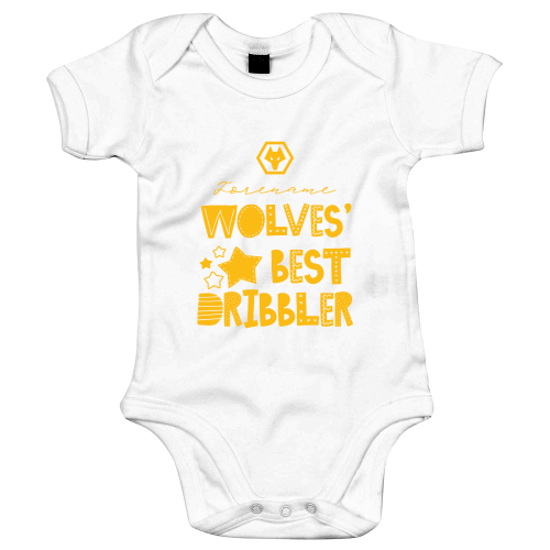 Wolves Best Dribbler Baby Bodysuit