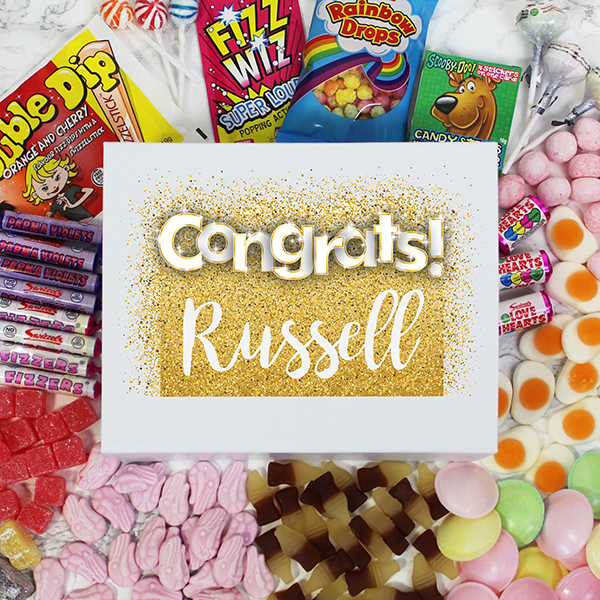Congratulations Deluxe Sweet Box