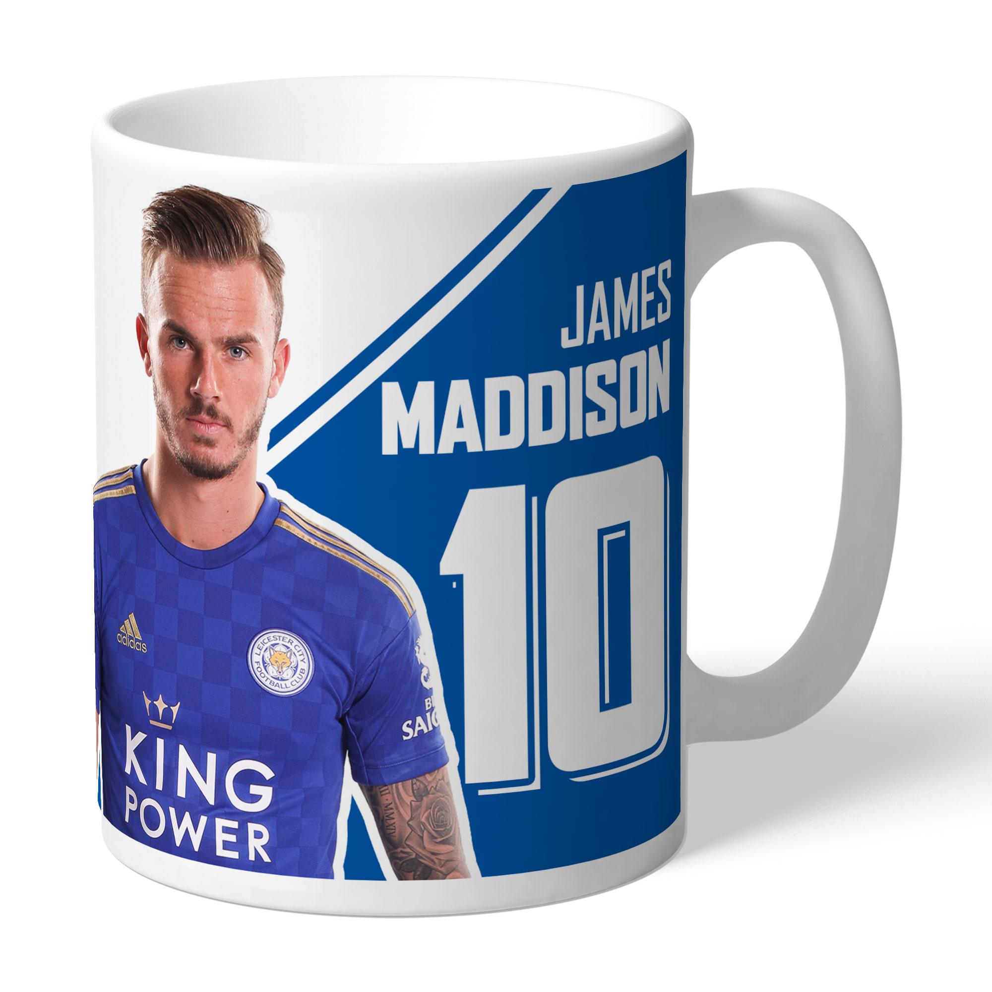 Leicester City FC Maddison Autograph Mug