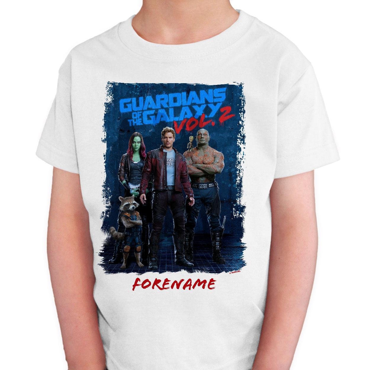 Marvel Guardians of the Galaxy Grunge Kids T-Shirt