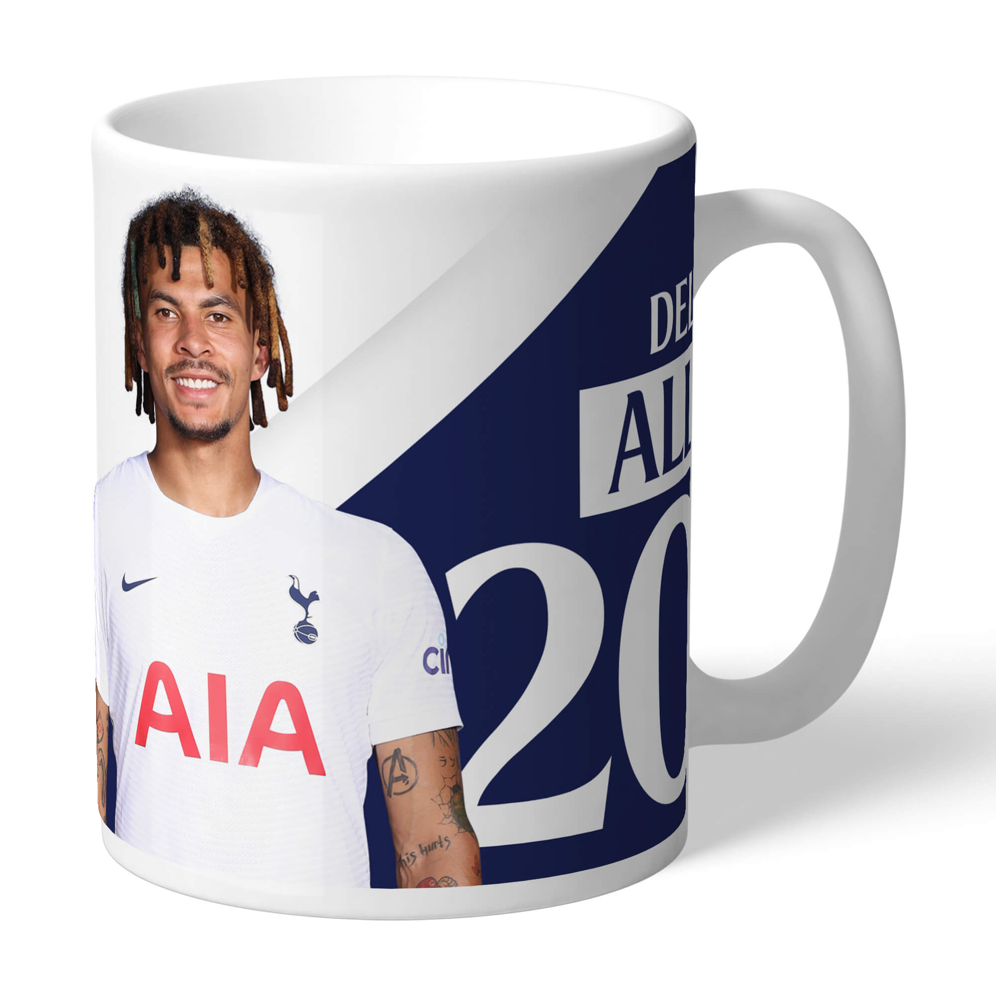 Tottenham Hotspur Alli Autograph Mug