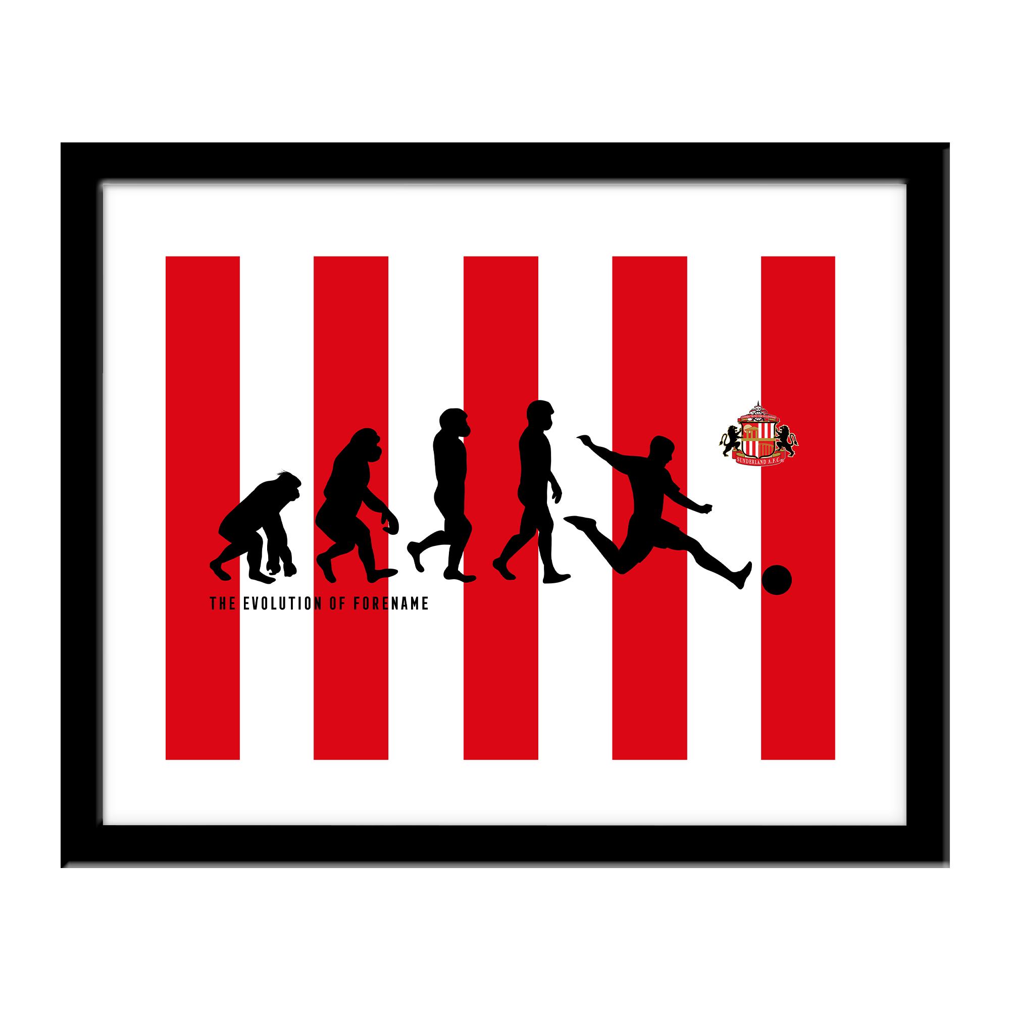 Sunderland AFC Evolution Print