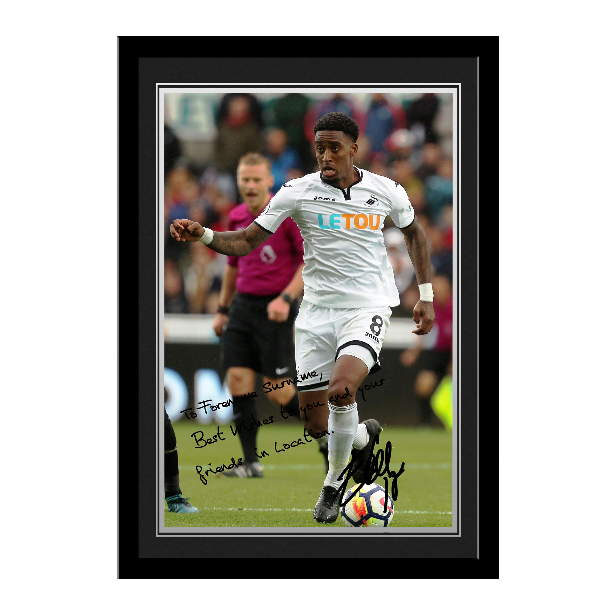 Swansea City AFC Fer Autograph Photo Framed