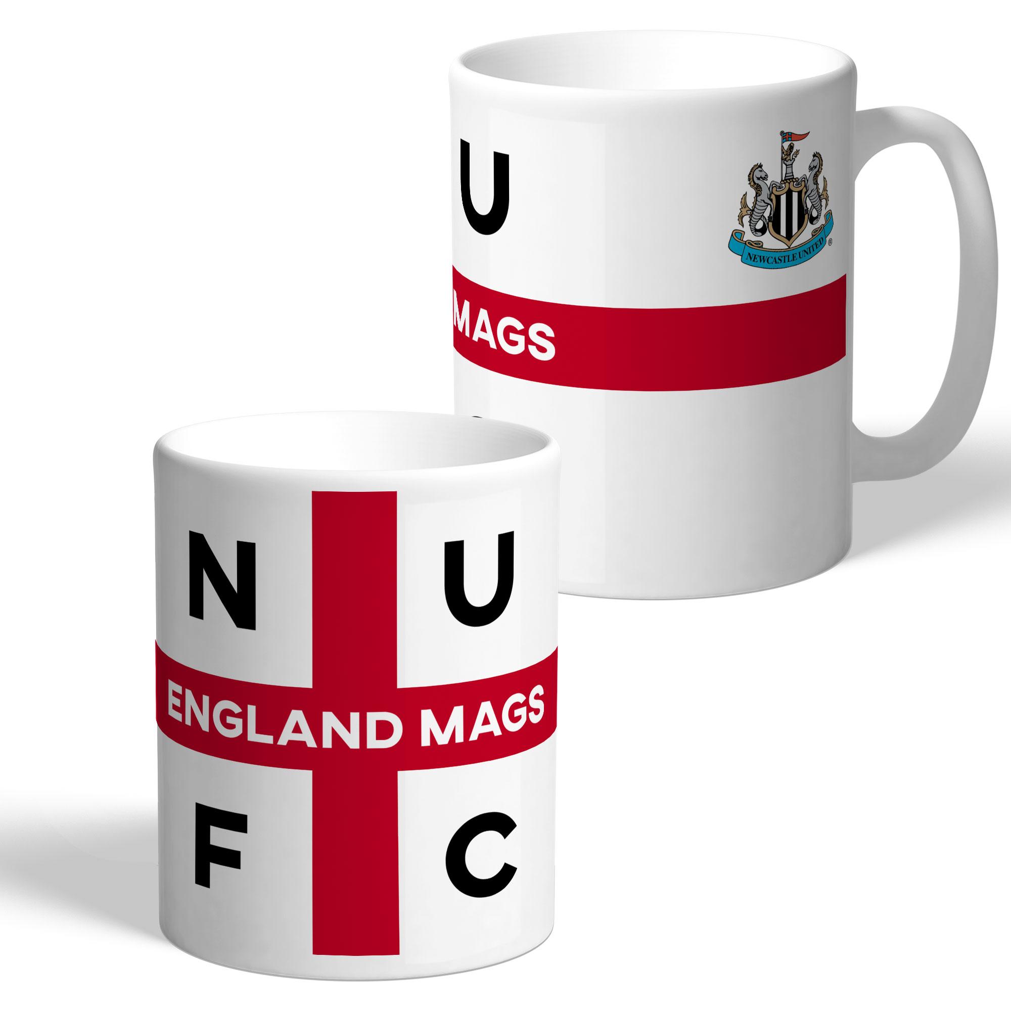 Newcastle United FC England Supporters Club Mug