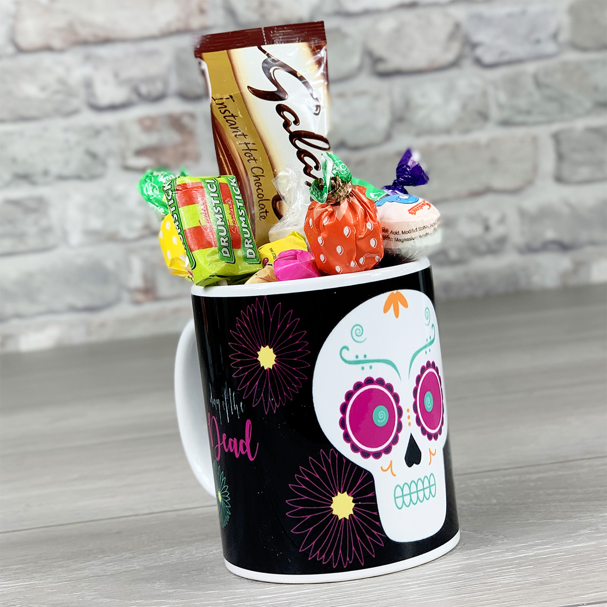 Day of the Dead Non Personalised - Mug With Sweets