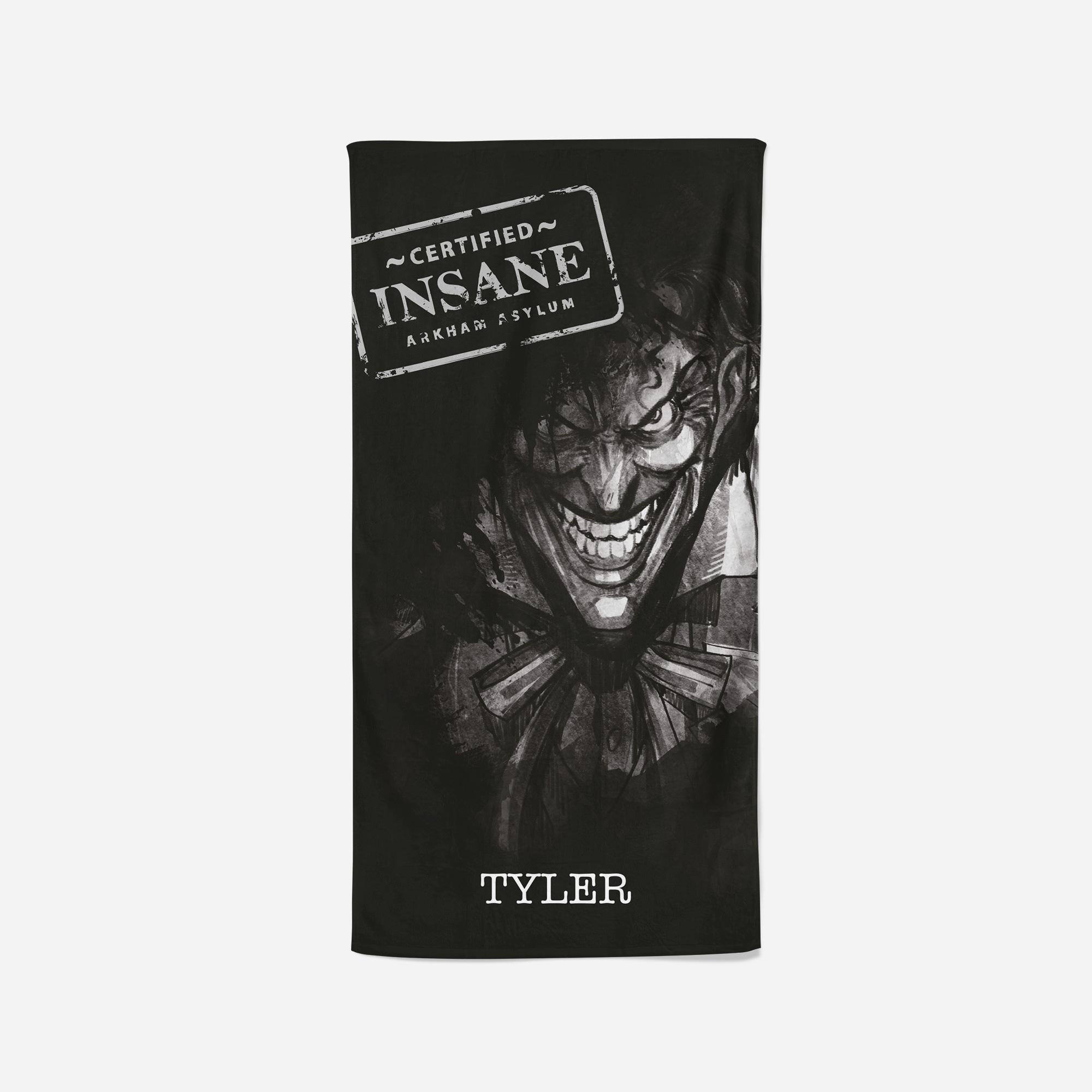 Joker Beach Towel - Certified Insane