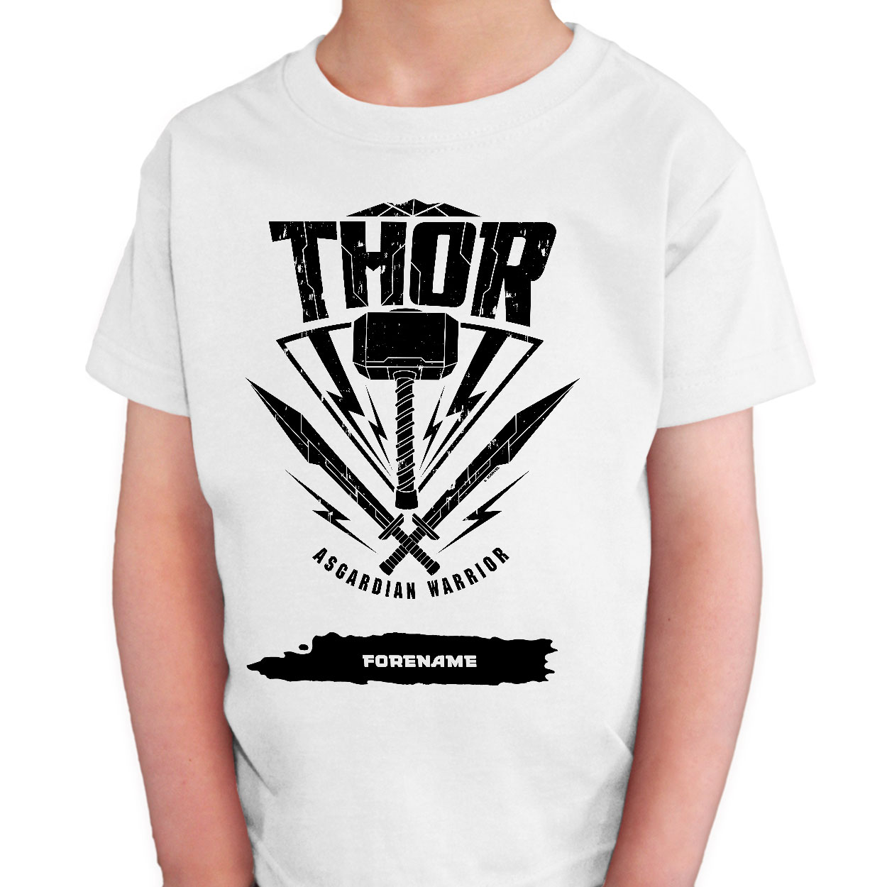 Marvel Thor Ragnarok Thor Badge Kids T-Shirt