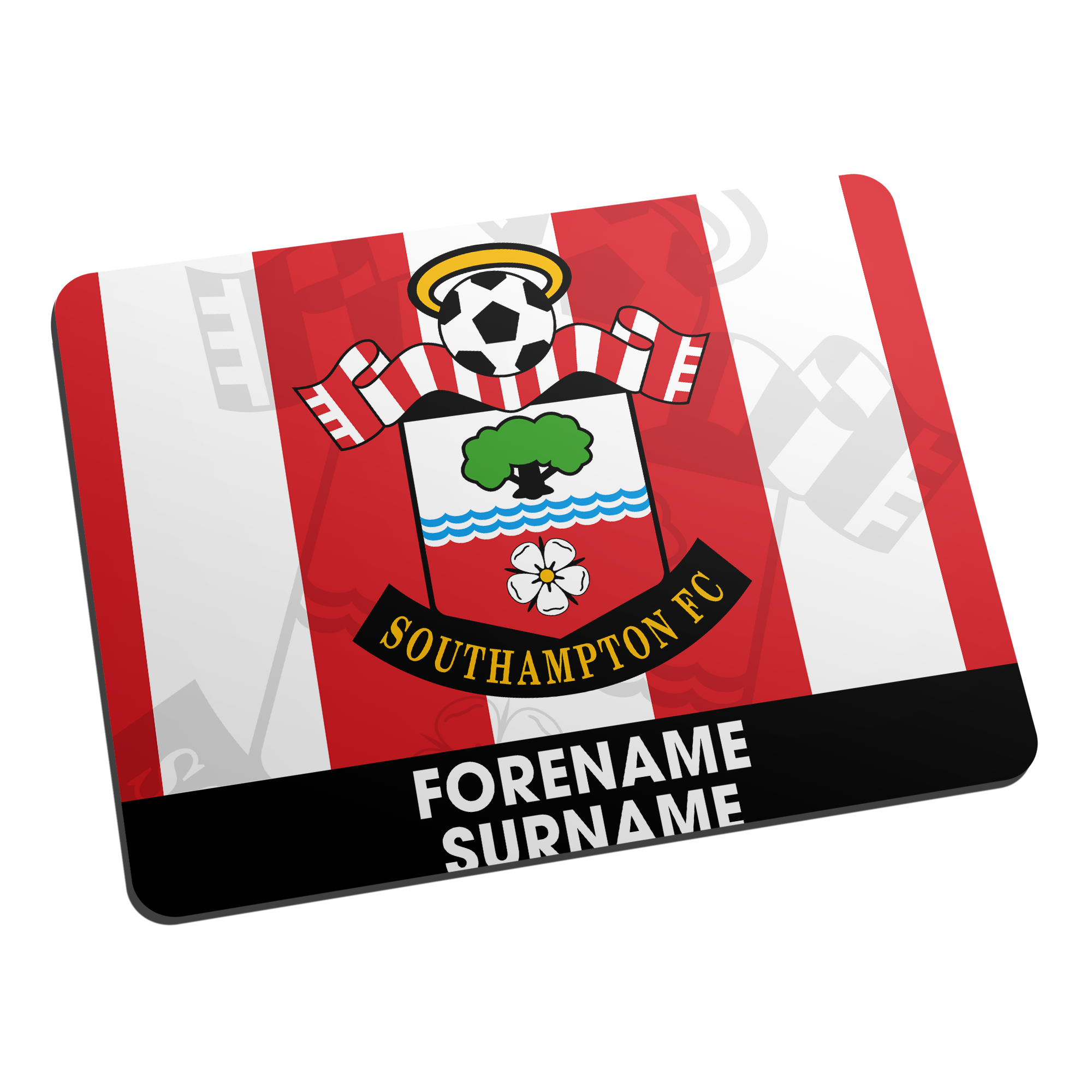 Southampton FC Bold Crest Mouse Mat