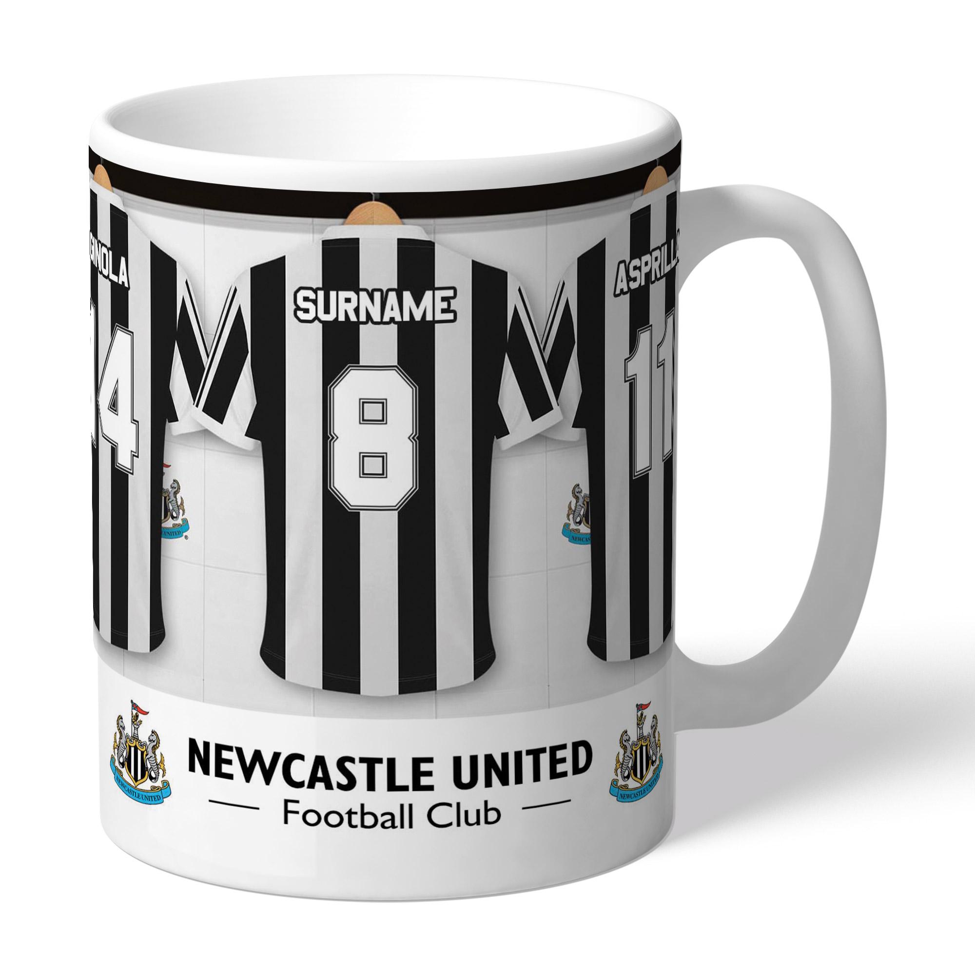 Newcastle United FC Legends Dressing Room Mug