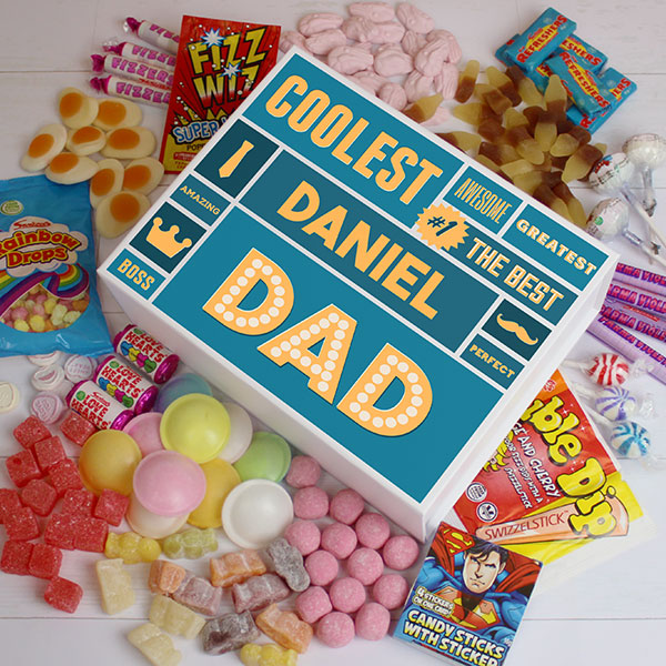 Best Dad - White Deluxe Sweet Box