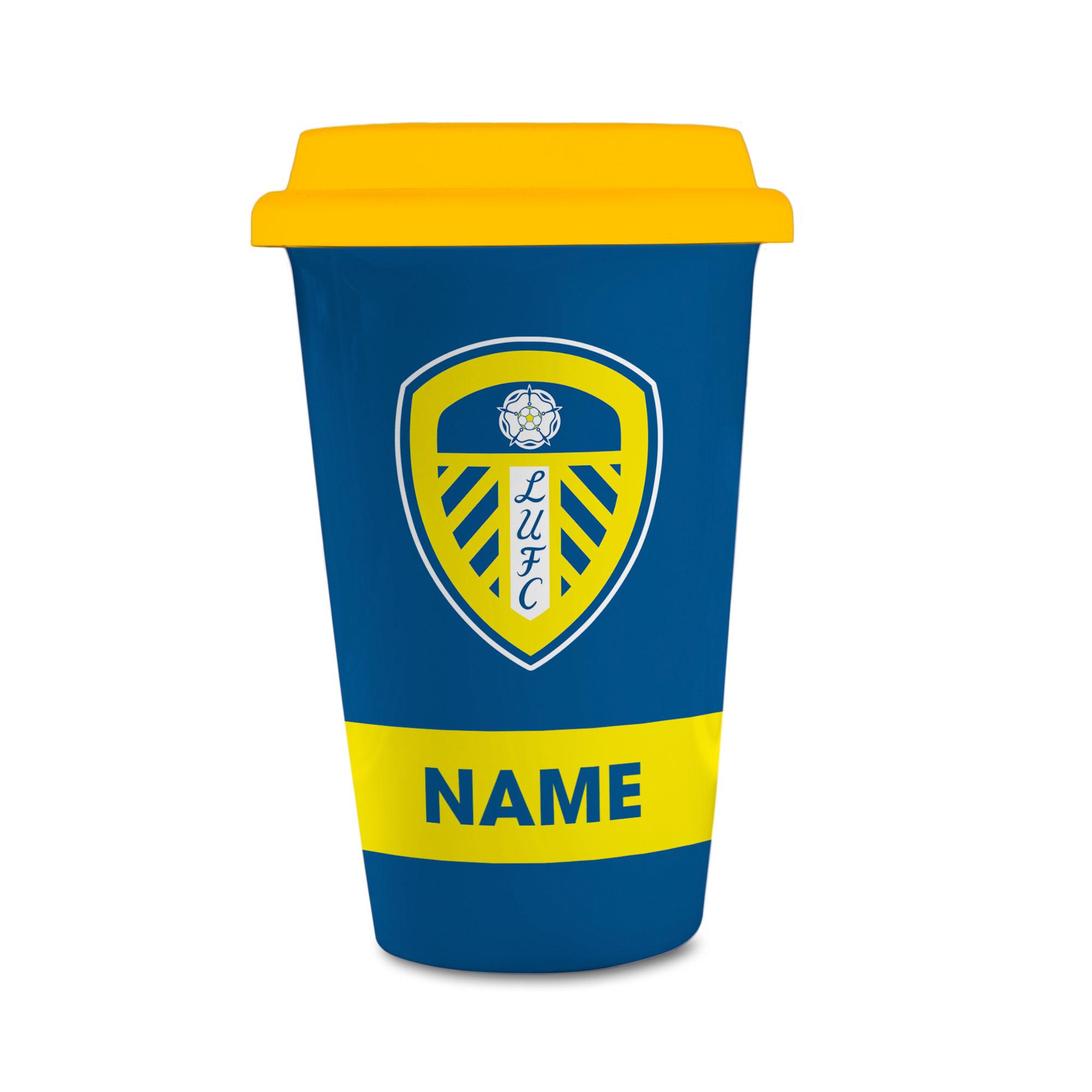 Leeds United FC Eat Sleep Drink  Reusable Cup