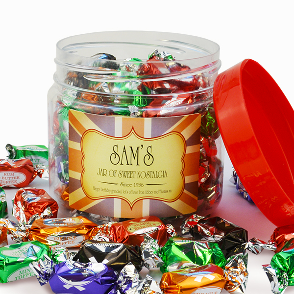 Assorted Toffees Jar