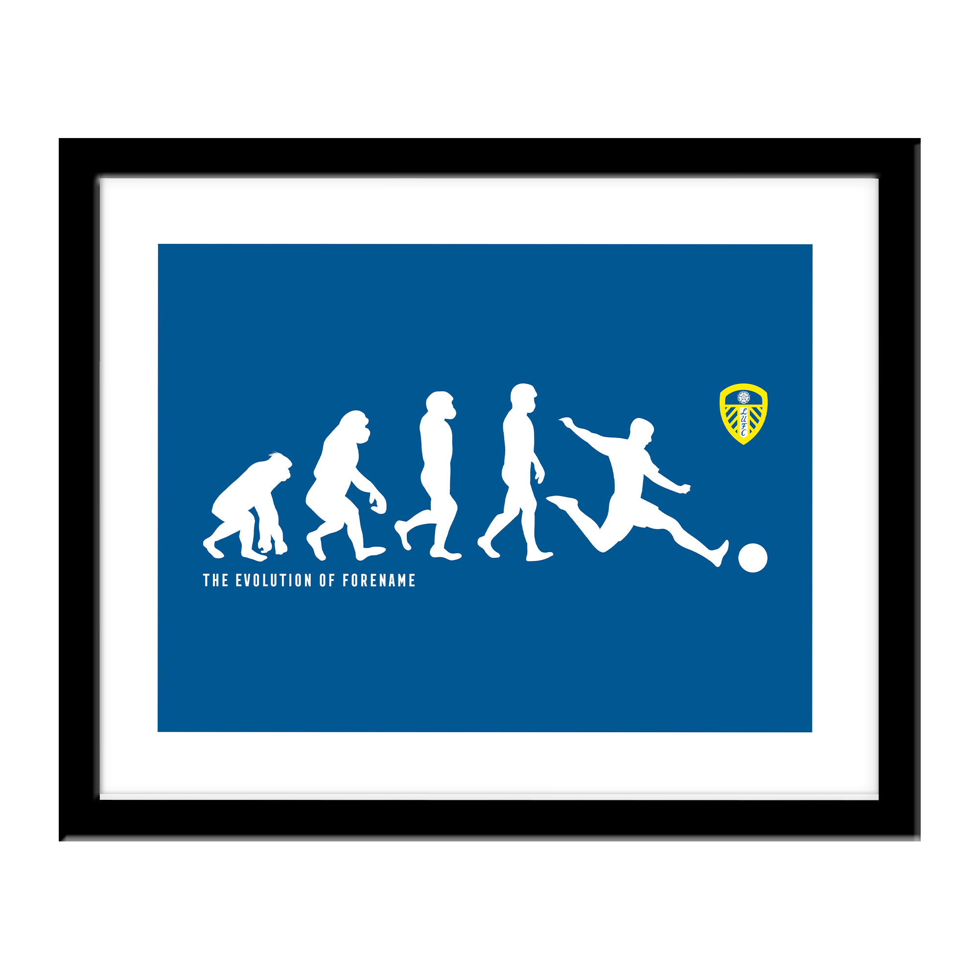 Leeds United FC Evolution Print