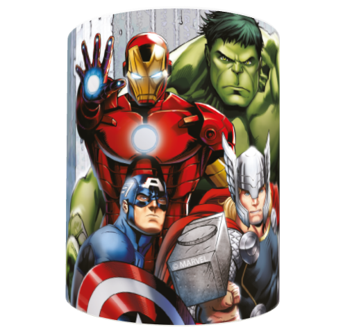 Marvel Avengers Assemble Group Scene Mug