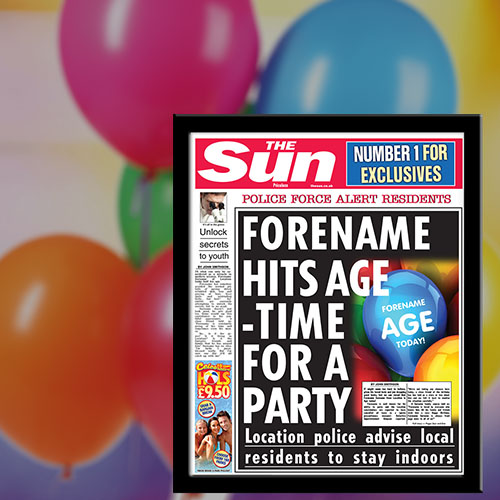 The Sun Birthday News