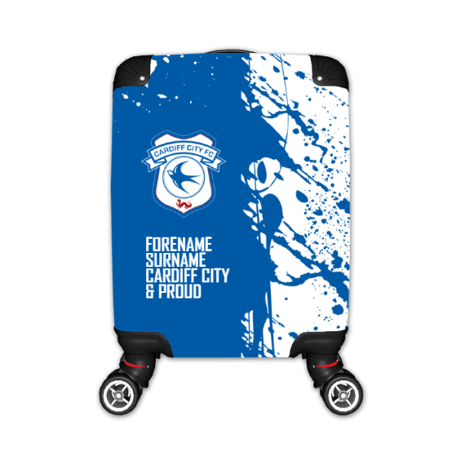 Cardiff City FC Proud Kid's Suitcase