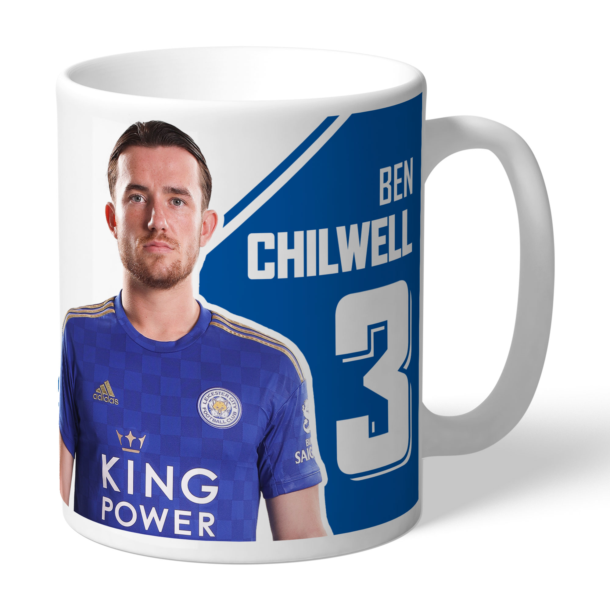 Leicester City FC Chilwell Autograph Mug