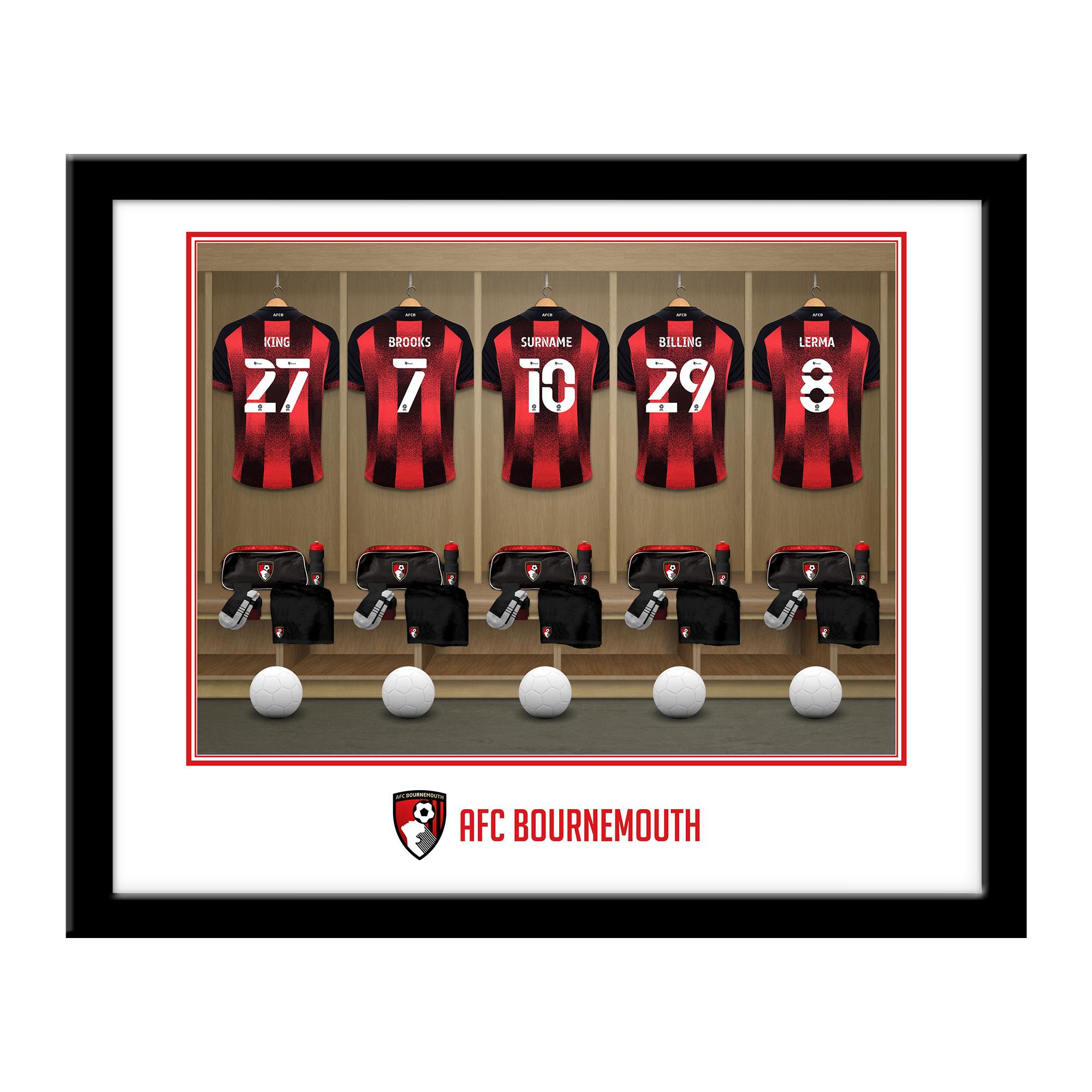 AFC Bournemouth Dressing Room Framed Print