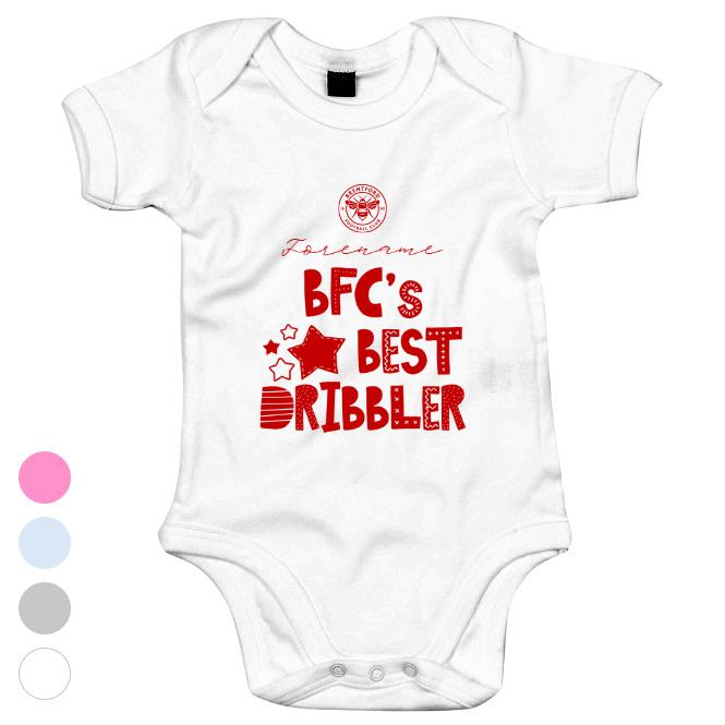 Brentford FC Best Dribbler Baby Bodysuit