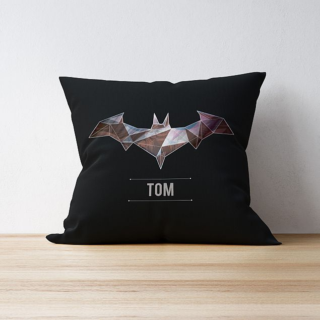 Batman™ Personalised Cushion - Dark Matter