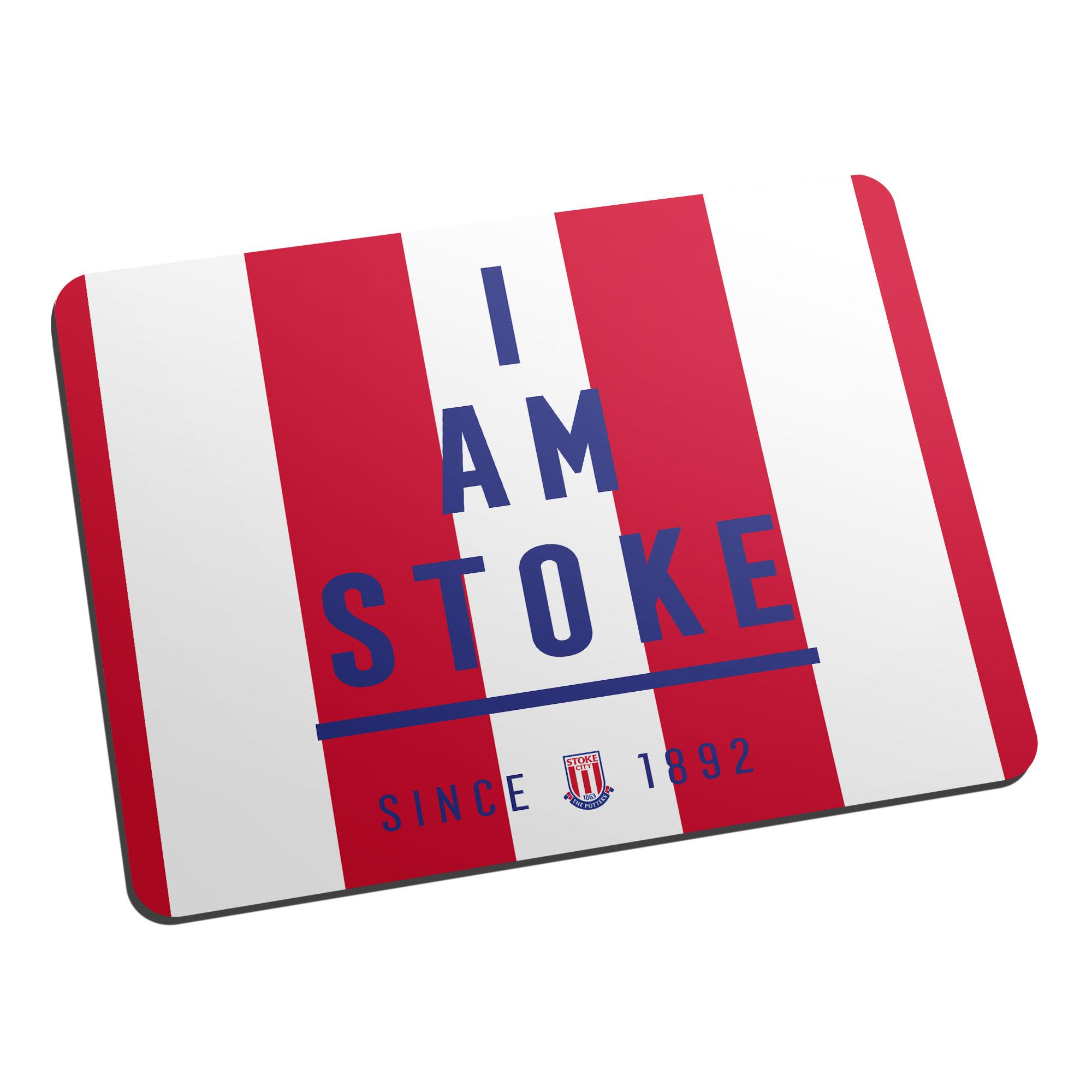 Stoke City FC I Am Mouse Mat