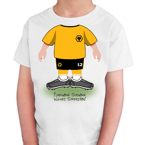 Wolves Kids Use Your Head T-Shirt