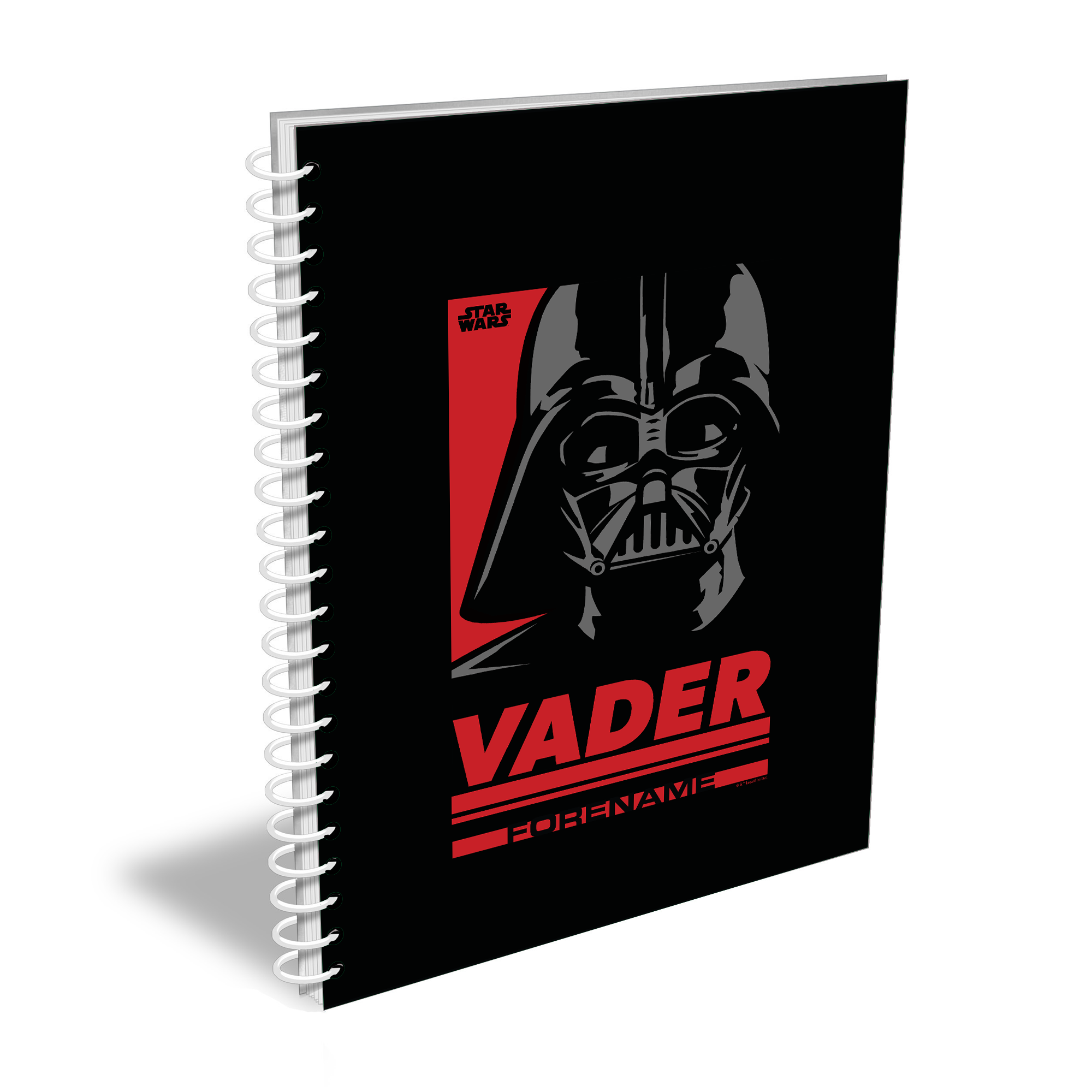 Star Wars Vader Pop Art A5 Notebook