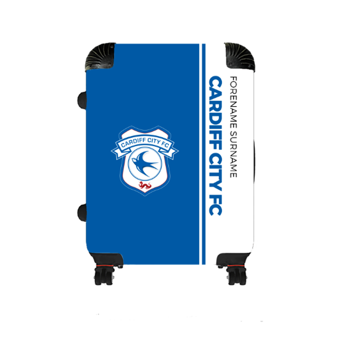 Cardiff City FC Crest Medium Suitcase