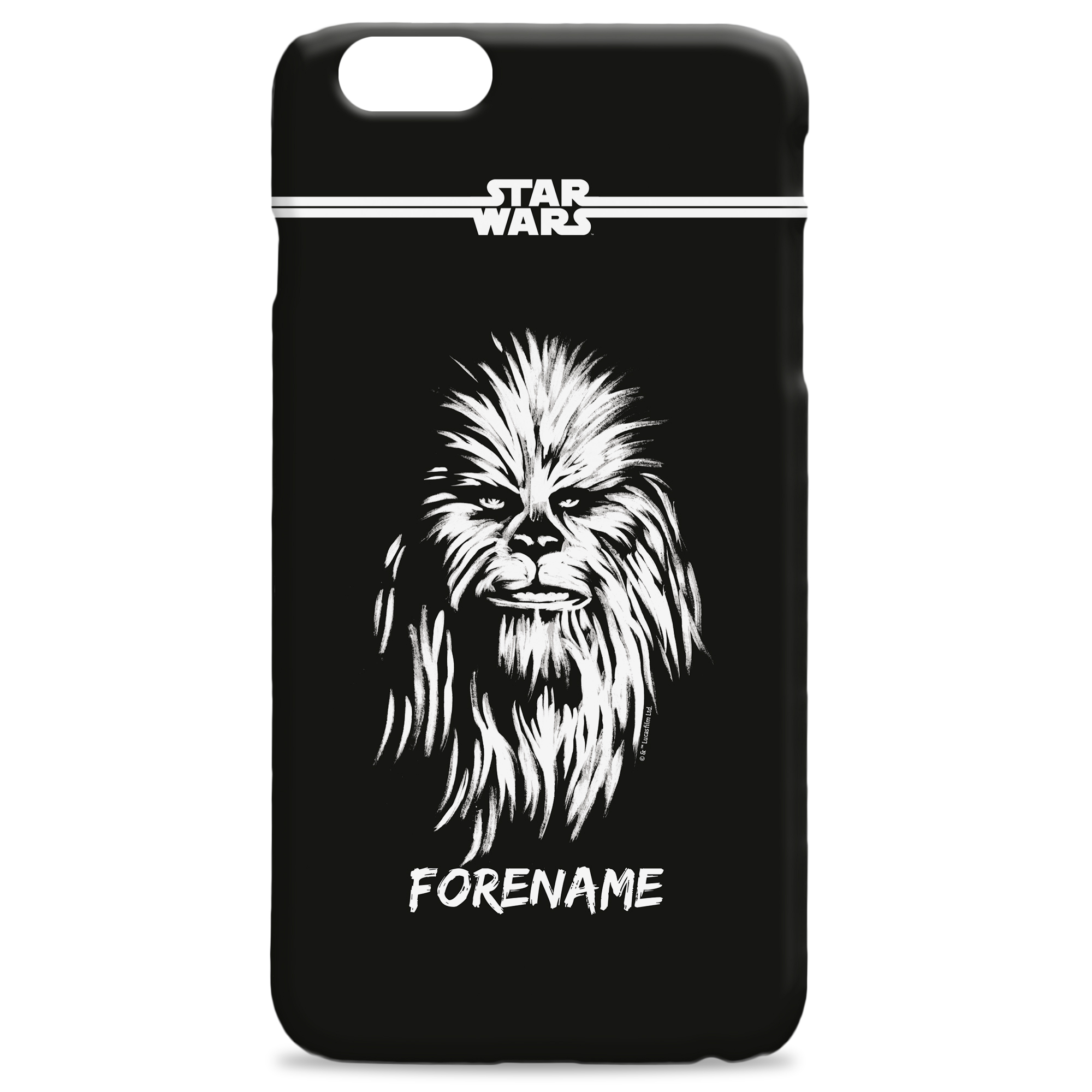 Star Wars Chewbacca Paint iPhone Phone Case