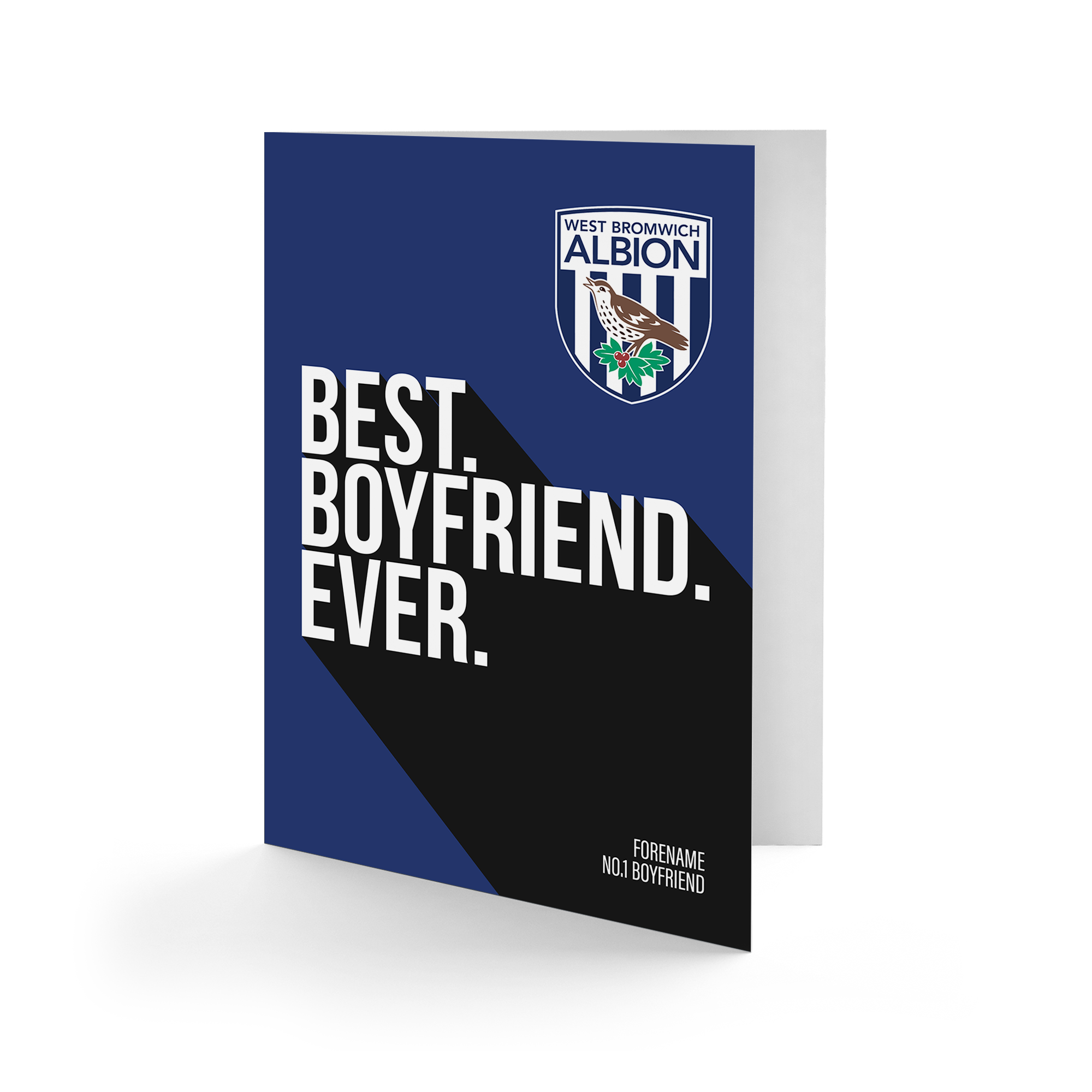 West Bromwich Albion FC Best Boyfriend Ever Card