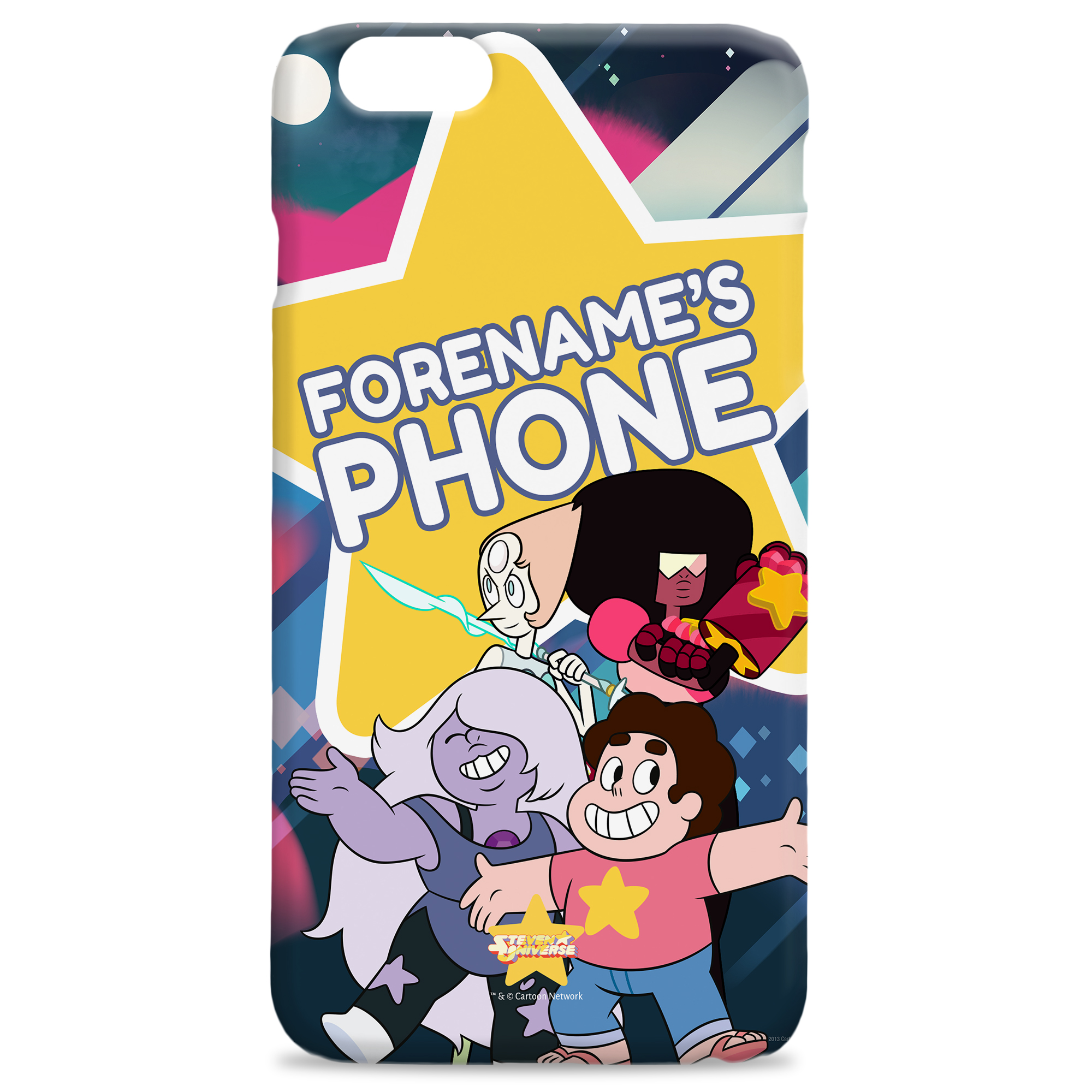 Steven Universe Star Group iPhone Case