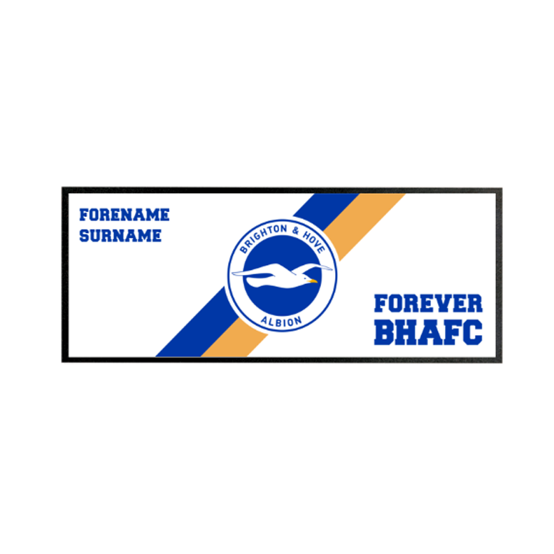 Brighton & Hove Albion FC Forever Regular Bar Runner