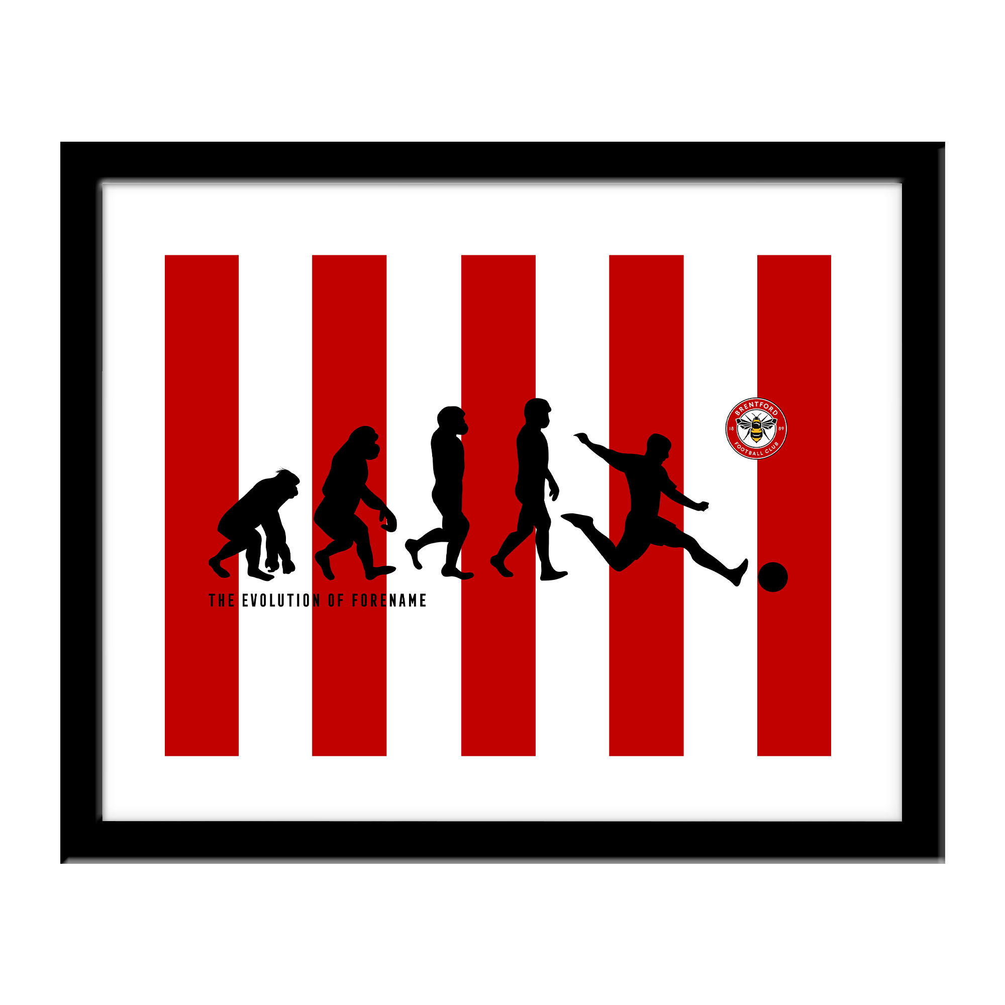 Brentford Evolution Print