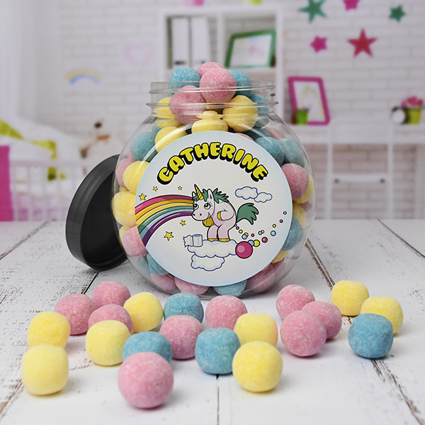 Personalised Unicorn Poo Jar