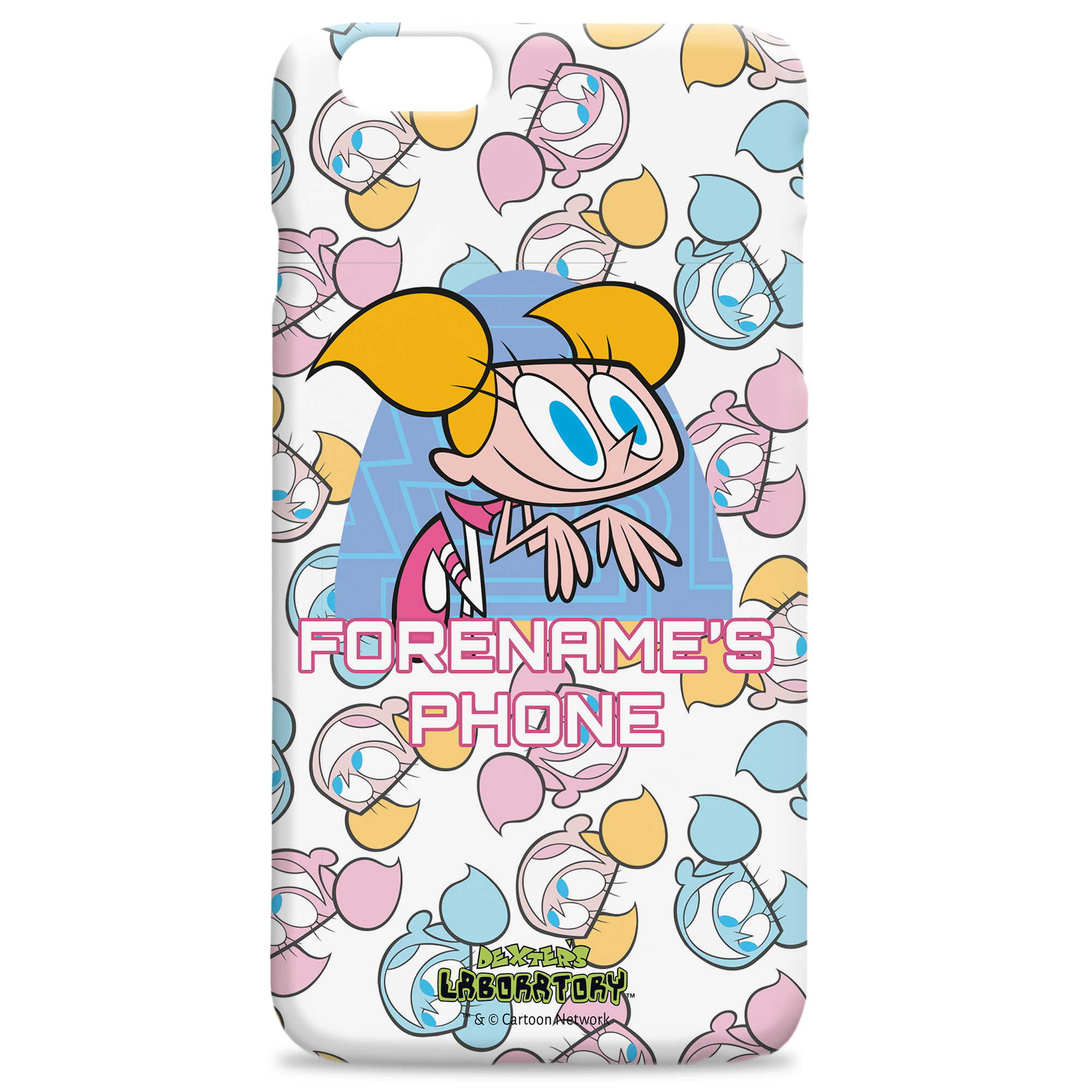 Dexter's Lab Dee Dee iPhone Case
