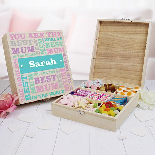 Best Mum - 9 Compartment Sweet Box