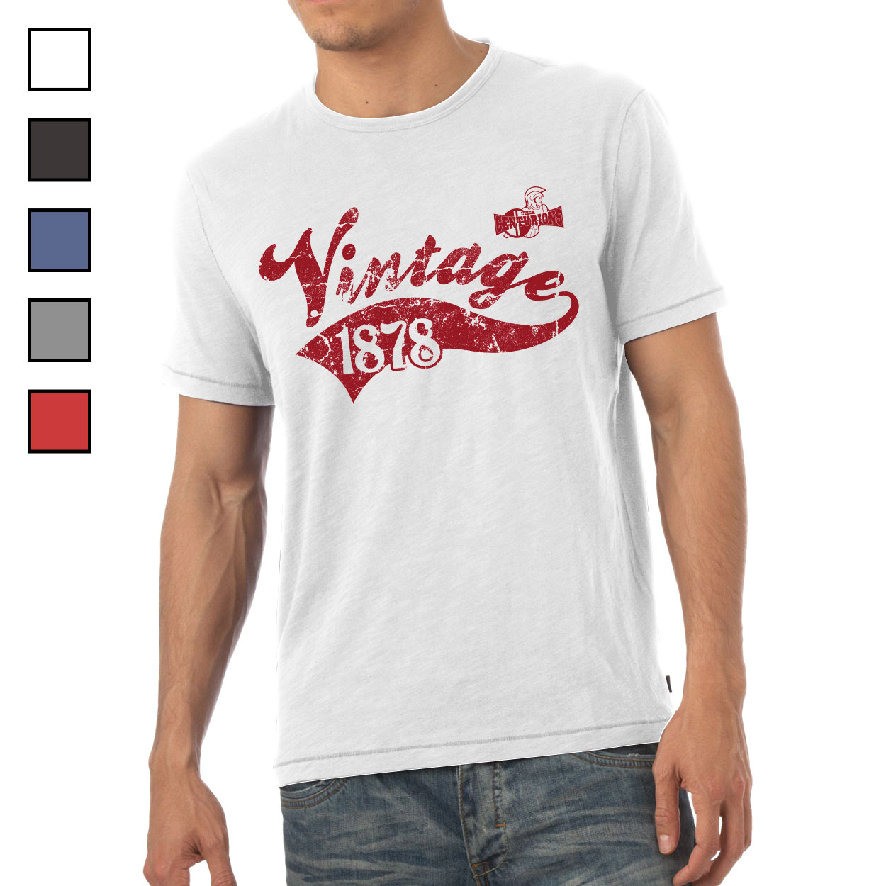Leigh Centurions Mens Vintage T-Shirt