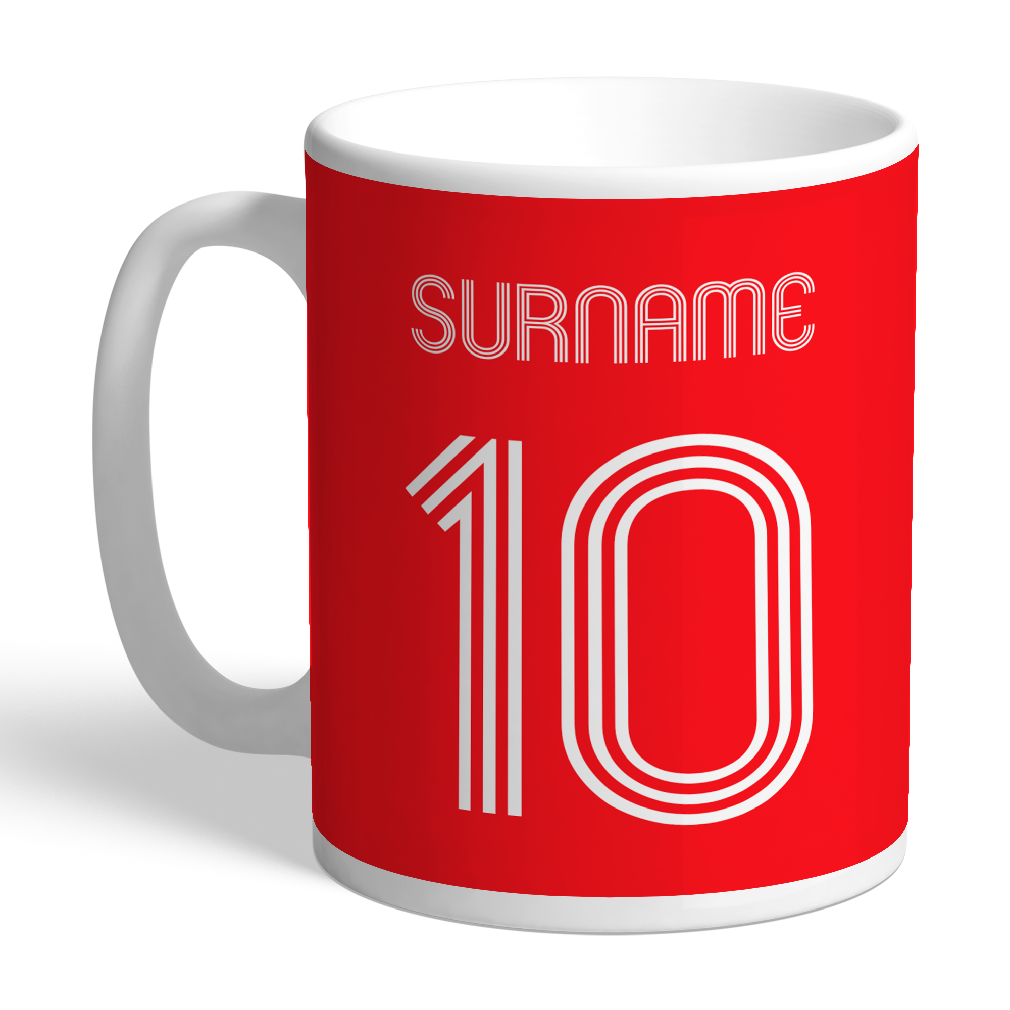 Liverpool FC Retro Shirt Mug