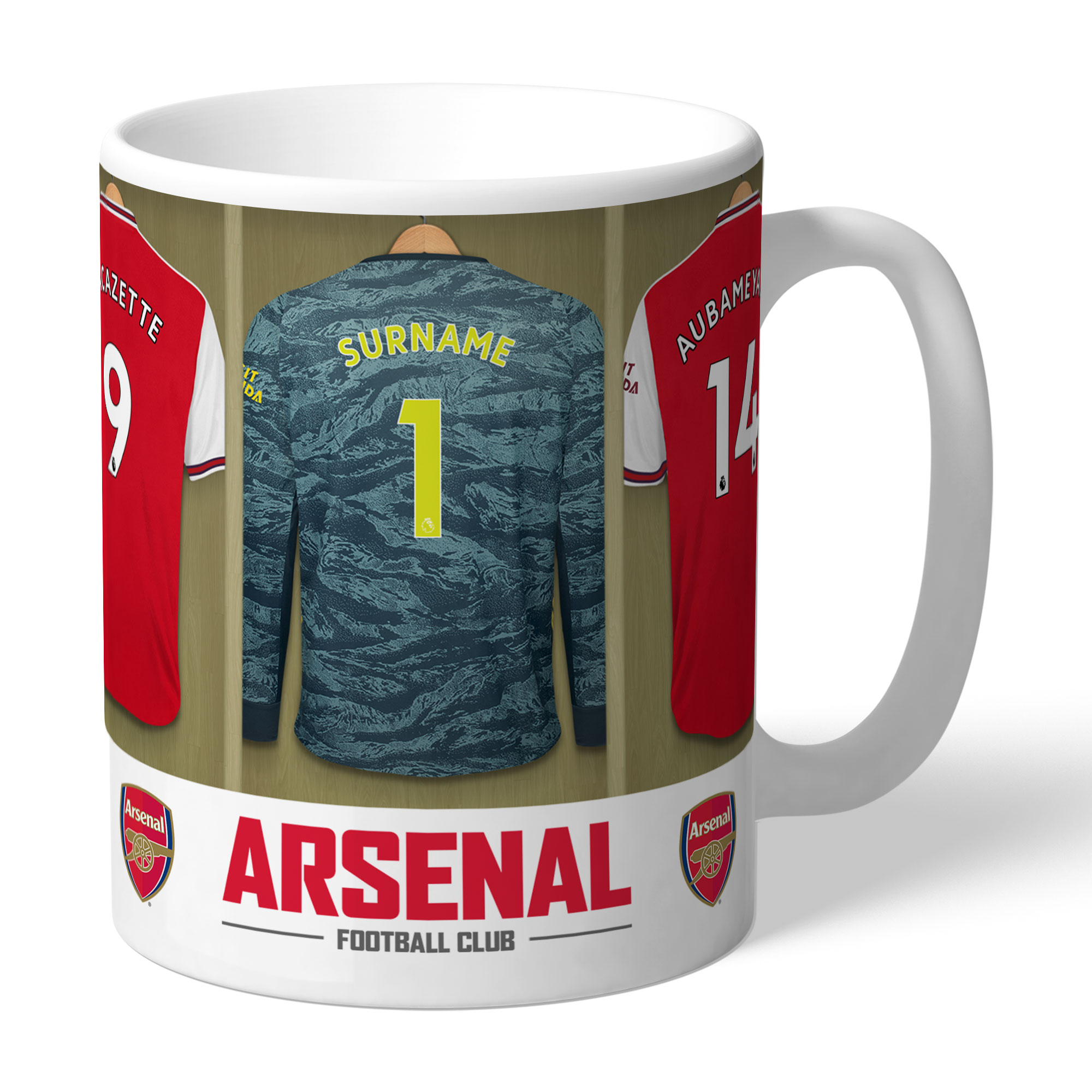 Arsenal FC Goalkeeper Dressing Room Mug