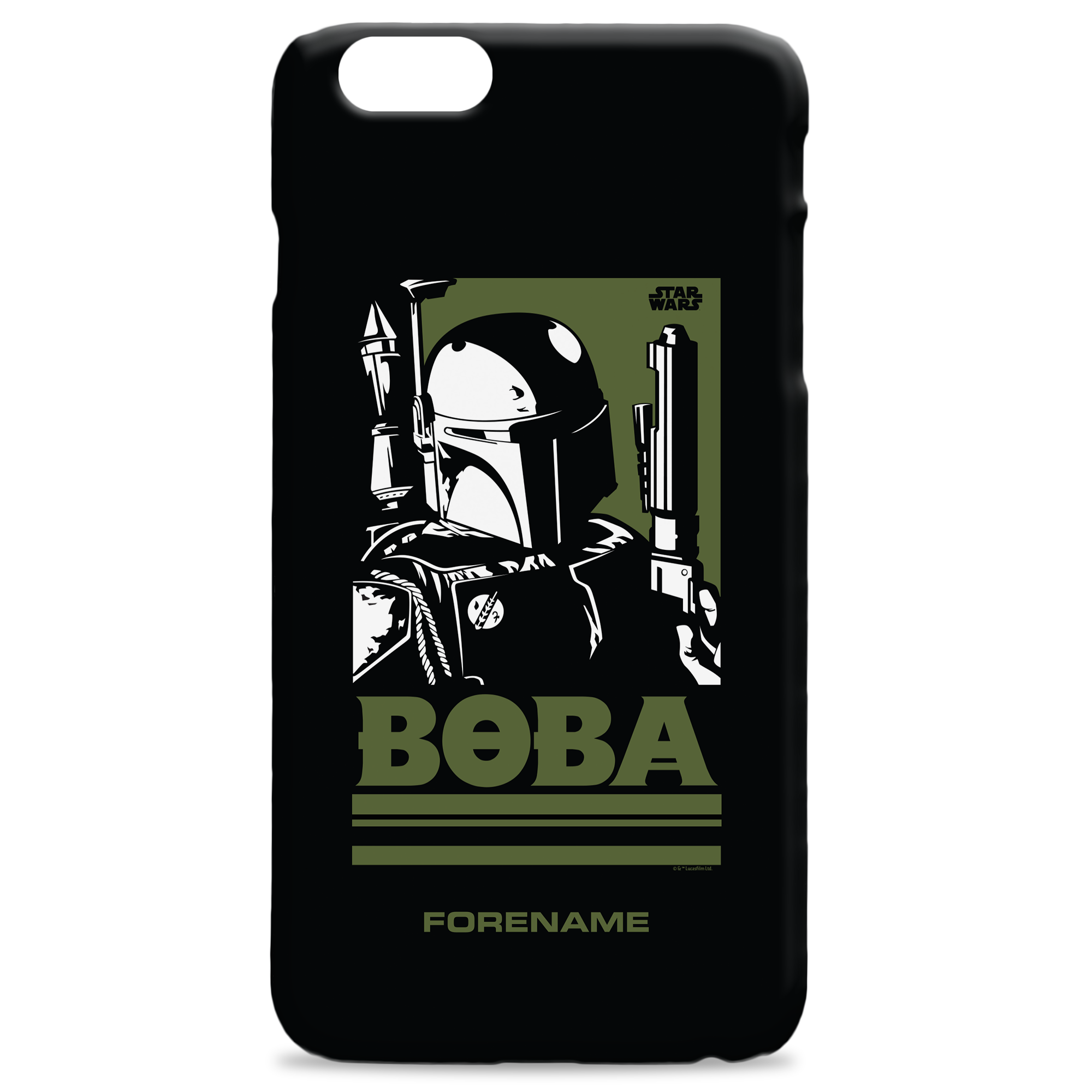 Star Wars Boba Pop Art Phone Case