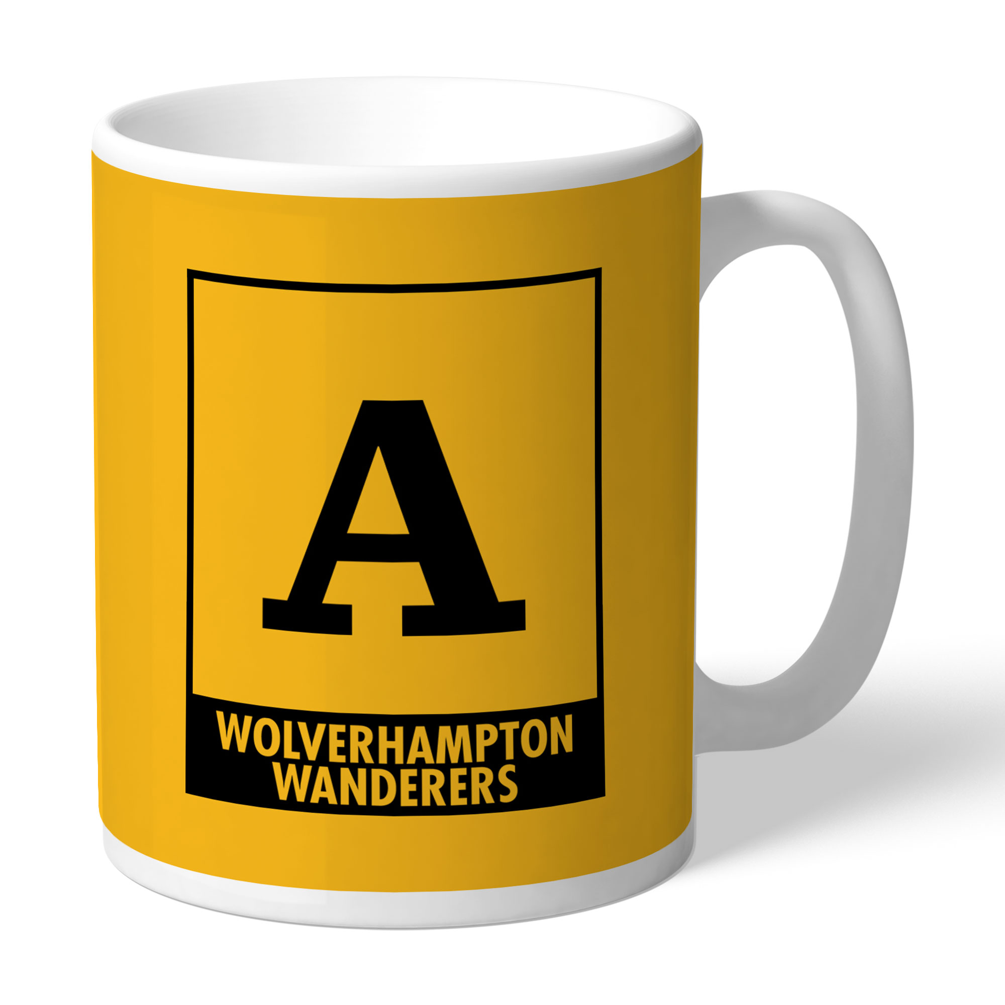 Wolves Monogram Mug