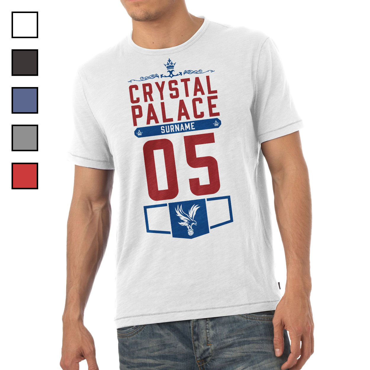 Crystal Palace FC Mens Club T-Shirt
