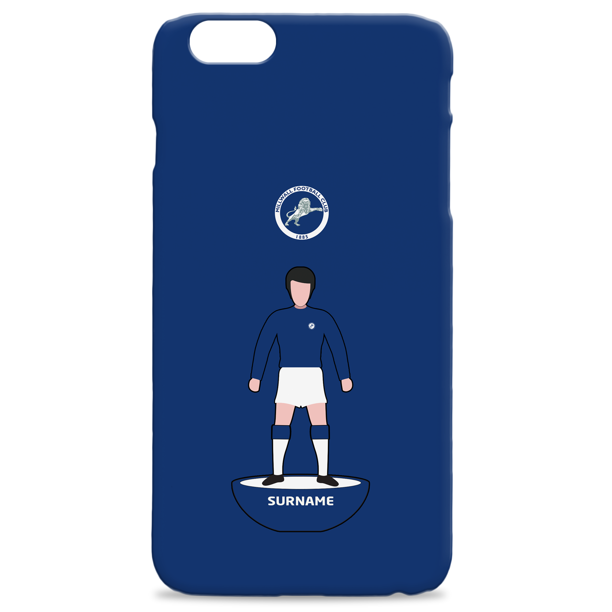 Millwall Player Figure Hard Back Phone Case