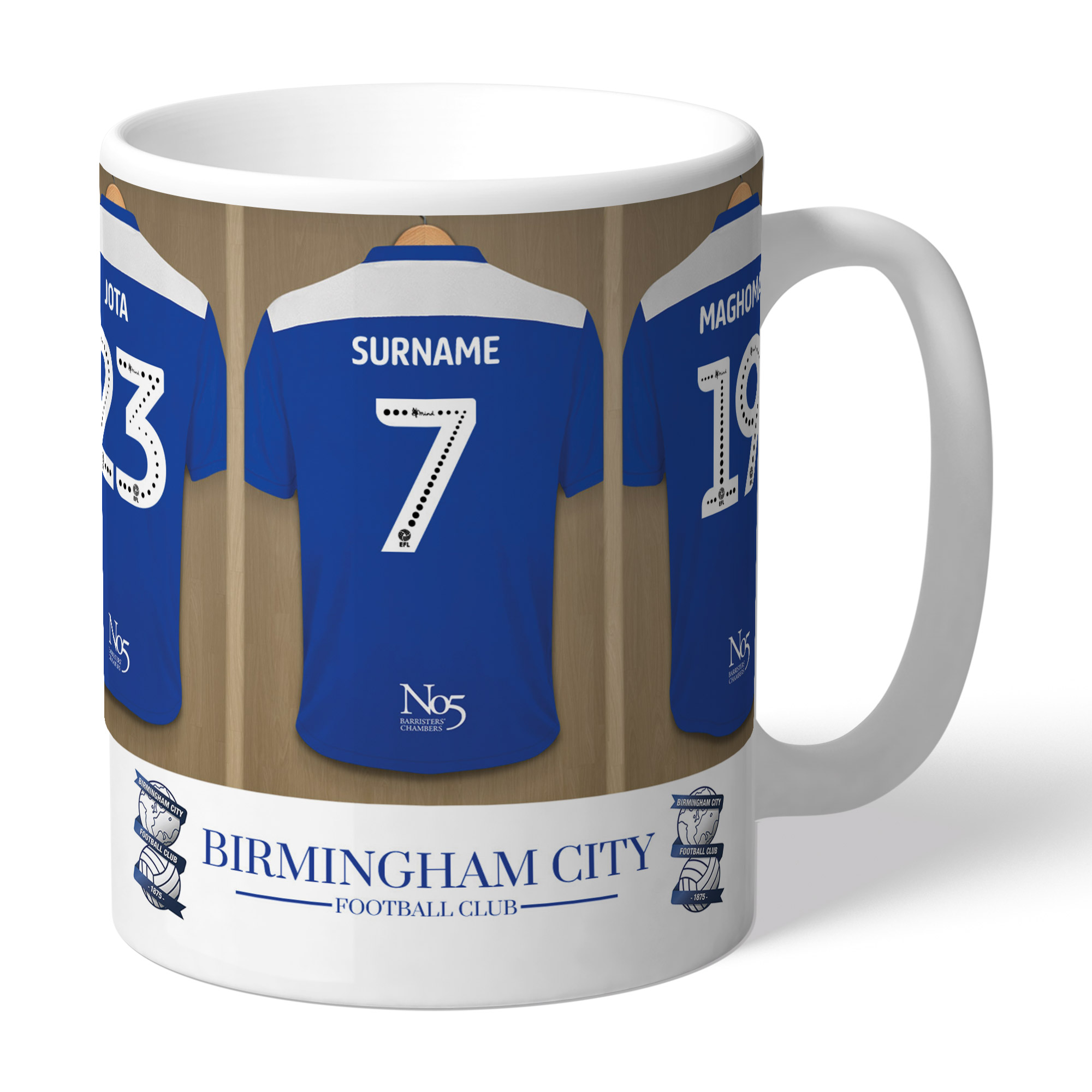 Birmingham City FC Dressing Room Mug