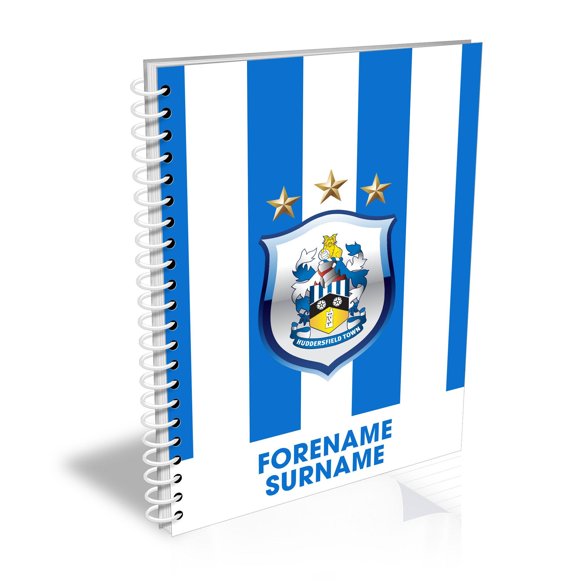 Huddersfield Town Bold Crest Notebook
