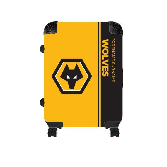 Wolverhampton Wanderers FC Crest Cabin Suitcase
