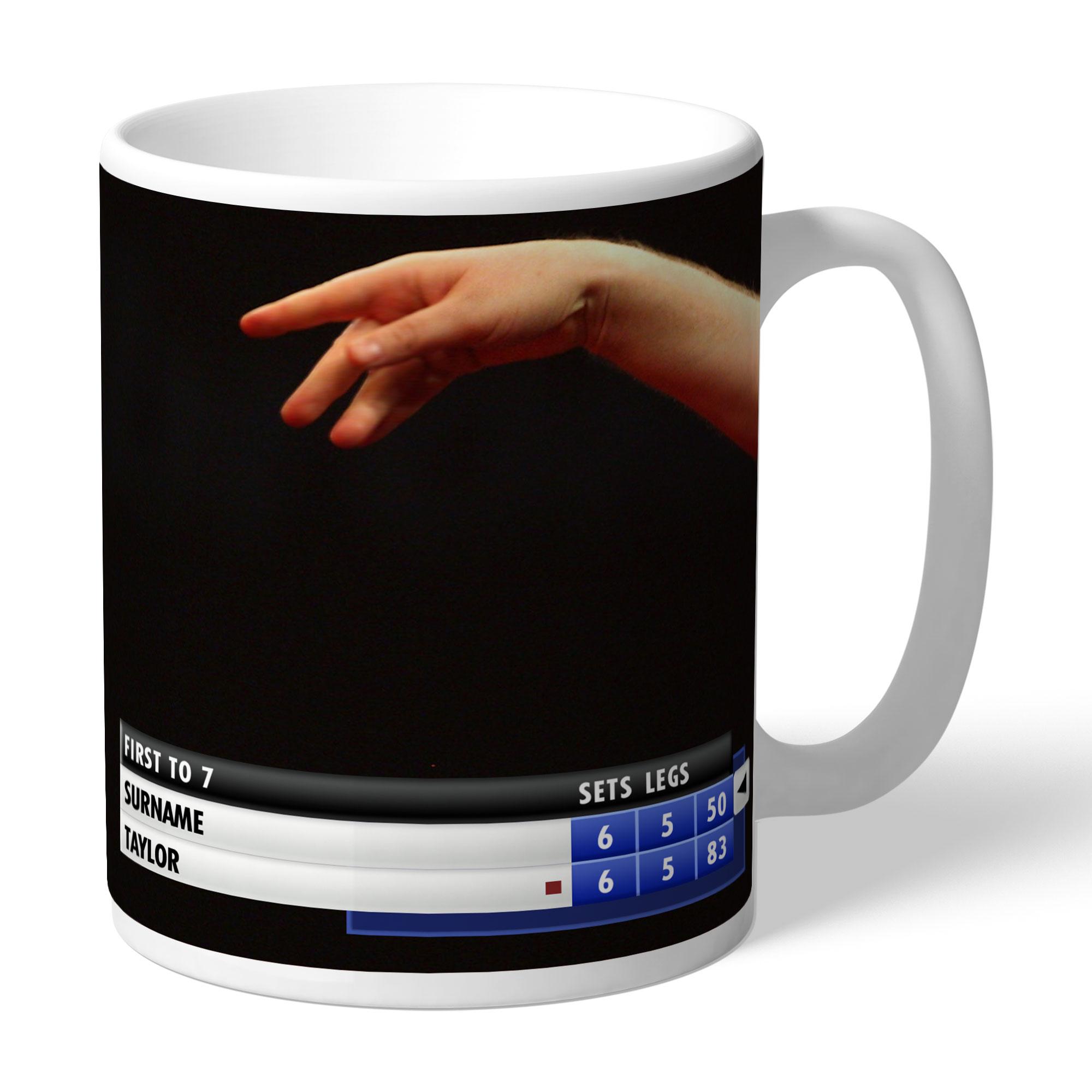 Personalised Darts Mug