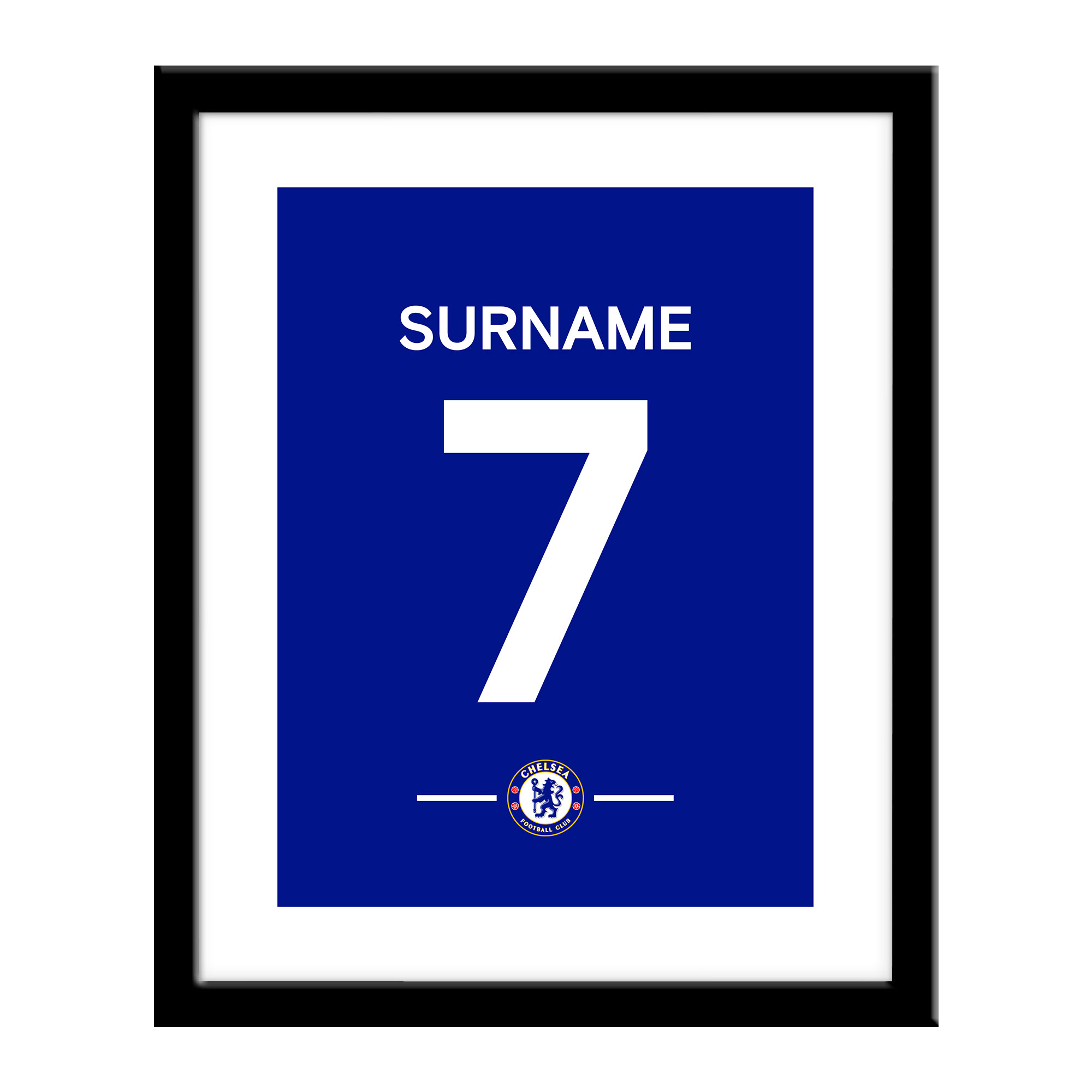 Chelsea FC Player Shirt Print