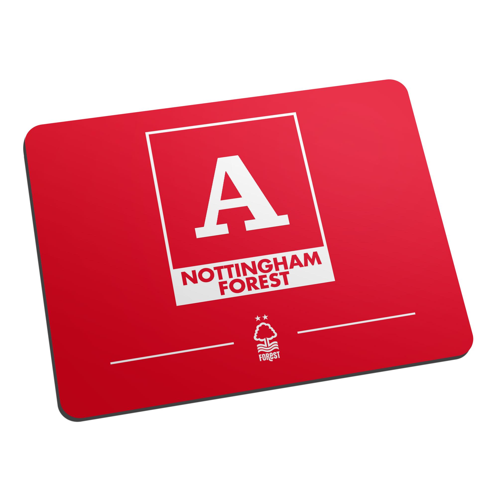 Nottingham Forest FC Monogram Mouse Mat